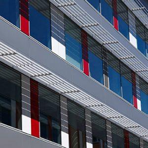 Muro cortina Stick VEC: Silicona estructural
