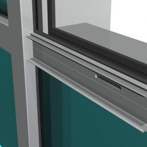 Muro cortina Stick VEP: Silicona semiestructural